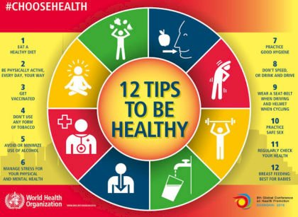 Top 12 Health Tips for Women